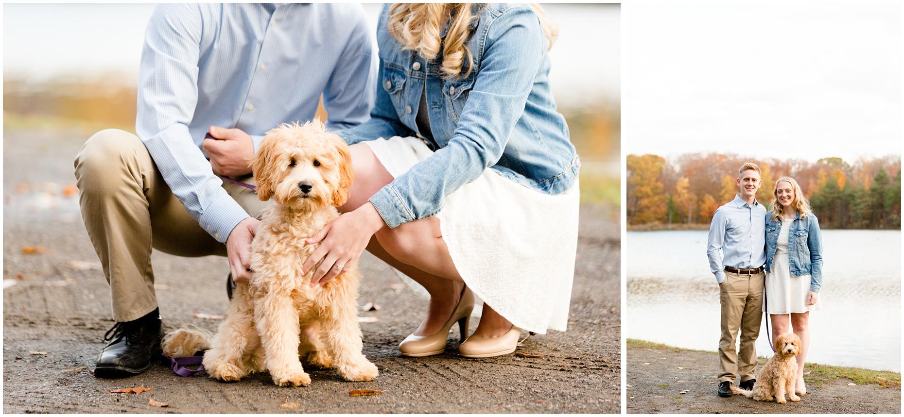 chestnut_ridge_park_engagement_photography_puppy_fall_hamburg_orchard_park